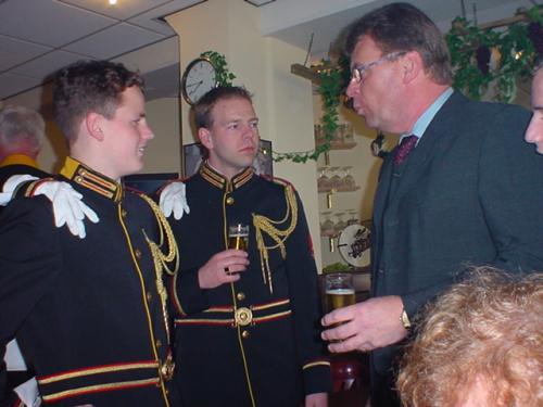 Guus, Rob H., Sander