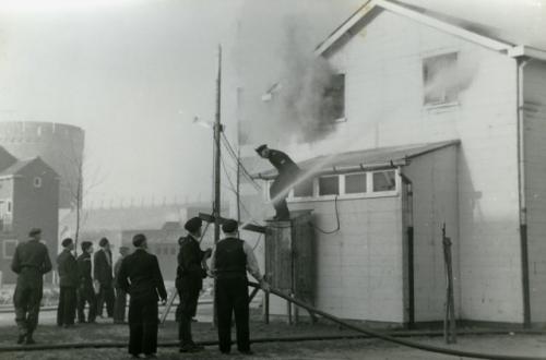 Brand Koestraat 1956